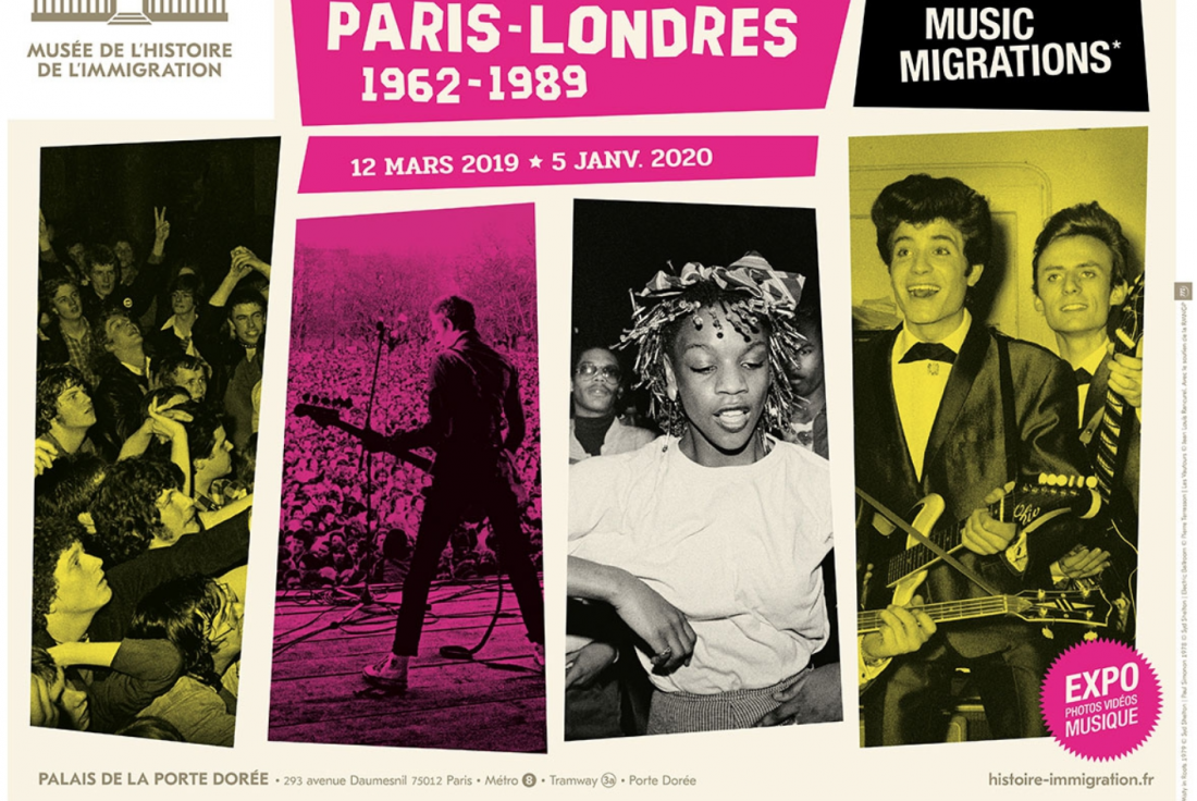 Vignette de la médiation Paris-Londres Music Migrations (1962-1989)